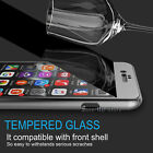 Hybrid 360&deg; New Shockproof Case Tempered Glass Cover For Apple iPhone 8+ 8 7 6s <br/> !!EDGE TO EDGE PROTECT✔GLASS CARBON FIBRE✔BEST QUALITY