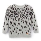 Teen Girls Fluffy Leopard Print Jumper/Sweater, 8-16 Years&Nbsp;