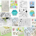Mermaid Transparent Silicone Clear Rubber Stamp Sheet Cling Scrapbooking DIY