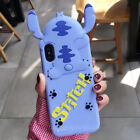 Cute Cartoon Stitch Soft Shockproof Silicone Case Cover for iPhone 8 X 6S 7 Plus