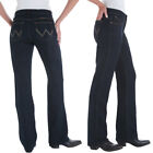 WRANGLER WOMENS Q-BABY STRETCH RIDING JEANS Cowgirl Cut Jeans