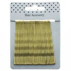 Hair Kirby Clips Bobby Pins Blonde  Wavy Grips Salon Styling Metal Clamps