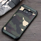 For Samsung Galaxy S8 S8+ Plus Case Camo Camouflage Shockproof Phone Armor Cover