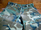 Military Surplus Hot Weather Woodland Camouflage Combat PantsPants & Bibs - 177873