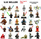 Star Wars Minifigure Leia Han Solo Boba Fett R2-D2 Darth Vader C-3PO Mini Figure £3.39 GBP