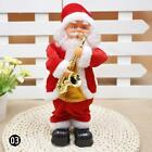 Christmas Decoration Festive Santa Claus Step To Sing Electric Little Doll YU