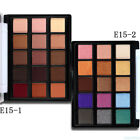 15Color Shimmer Matte Eye Shadow Powder Makeup Palette Cosmetic Natural Color CN