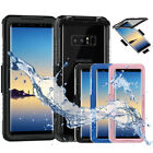 Waterproof Dust proof Shockproof Full Body Cover Case for Samsung  Note 9/Note 8