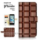 For iPhone 6 6S Plus  Case Cover A40258 Chocolate