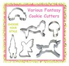Various fantasy cookie cutters - CHOOSE YOUR STYLE - fairy tale magical
