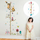 Growth Height Chart Removable Wall Decal Kids Baby Home Room Nursery  Wall Decor