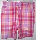 NEW! FADED GLORY GIRLS BERMUDA SHORTS VIOLET BLOOM SIZE 10/12 LARGE