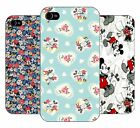 vintage retro disney micky minnie mouse pattern hard back case cover for iphone