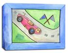 Race Cars Fast Transportation, Print or Canvas Wall Art Decor, Kids Baby Nursery