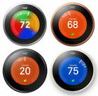 Nest Learning Smart Thermostat 3rd Generation Google Home Alexa-Brand New-Sealed