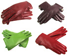 Womens Ladies Premium Super Soft Real Leather Gloves Lined Warm Driving Winter