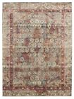 Contemporary Babylon Design Nephthys Washed out Floor Area Rug Red