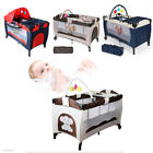 Portable Infant Child Baby Playard Travel Cot Bed Playpen Bassinet Entryway
