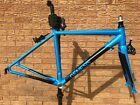 Genesis Delta Road Bike Frameset, Alloy Frame / Carbon Fork With Mudguard Eyes