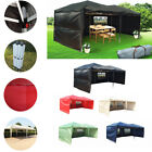 Heavy Duty Pop Up Gazebo 6 x 3 Marquee Party Tent Awning Canopy WATERPROOF Bags