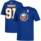 New York Islanders John Tavares Adidas Blue Short Sleeve Jersey T-Shirt $19.99 USD on eBay