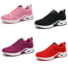 Women Athletic Sport Lace Up Sneaker Shoes Knitting Vamp Breathe for Walk Run