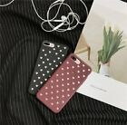 For iPhone X 6s 8 Plus Love Heart Hollow Pattern Thin Soft T