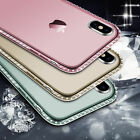 Diamond Glitter Bling Soft Case Cover For iPhone X 8 5 5s 6 6s 7 Plus Accessory