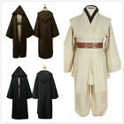 Star Wars Obi-Wan Kenobi Jedi Knight Master Cloak Halloween Adult Costume Set $54.77 USD on eBay