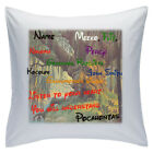 "Personalised White Cushions 18"" - Disney - Pocahontas - Style 2"