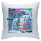 "Personalised White Cushions 18"" - Disney - Pocahontas - Style 1"