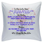 "Designed White Cushions 18"" - Disney Quotes - In Our Loving Home - Style 4"
