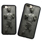 Star Wars Han Solo Frozen in Carbonite Soft Rubber Case Cover For iPhone7 8 Plus $8.99 USD