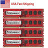 US 32GB 4x8GB PC3-12800 DDR3 1600 NON-ECC RAM For AMD AM3 AM3+ 990FX 990X Socket