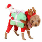 Pet Dog Santa Christmas Sweater Clothes Puppy Cat Hoodies Costume Santa