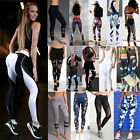 Femmes Gym Yoga Sport Fitness Leggings pantalon Sportswear en cours dexcution