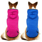 Cozy Dog Basic Sweatshirt Shirt Sweater Winter Dog Hoodie Clothes for Pets M L