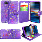 Case For Sony Xperia 1 10 XZ3 XZ Magnetic Flip Leather Wallet Stand Phone Cover
