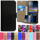 Case Cover For Sony Xperia X XA2 XZ2 XZ Magnetic Flip Leather Wallet Card Holder