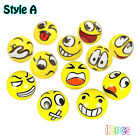 12pcs/lot Cartoon Emoji Face Expression Squeeze Ball Soft Anti-stress Toy NEW