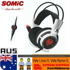 SOMIC G941 USB PC 7.1 Best Surround Sound Gaming Headset with Active Vibration