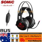 SOMIC E95X REAL 5.2 Channel Surround Sound Gaming Headset with G2 Vibration USB
