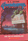 Book. R.L.Stine / Goosebumps / One Day At Horrorland  / Welcome to horrorland