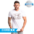 CoreX Fitness X-Ray Tee - Charcoal S-XXL FAST FREE DELIVERY