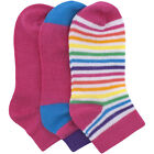 Fruit of the Loom Infant Toddler Girls' Ankle Sock 3 Pairs