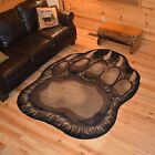 Bear Claw Area Rug Various Sizes and Shapes with FREE Shipping