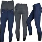 Horka Melissa Ladies Silicone Water Repellent Equestrian Horse Riding Breeches