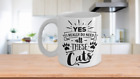 YES, I REALLY DO NEED ALL THESE CATS MUG