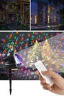 Waterproof Christmas Decorative Lamp Snowfall Influence With Remote Control