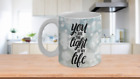 You Are The Light Of My Life Custom-Designed Ceramic Coffee/Tea Mug- 11 & 15 oz
